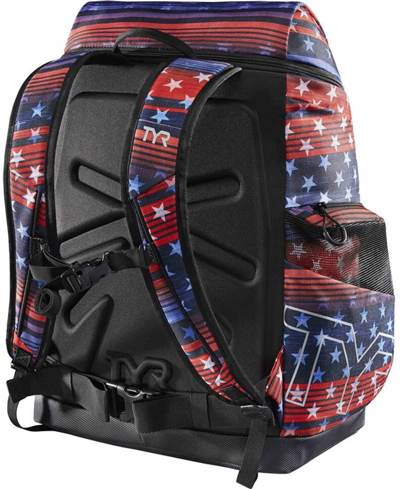 TYR Alliance 45l USA Print Backpack red/white/blue | campz.de